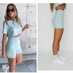 White Fox Boutique Bike Shorts Mint